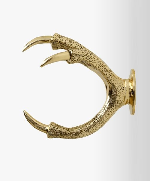 Gold wallmount claw