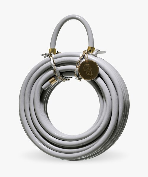 Graceful rock colored grey garden hose