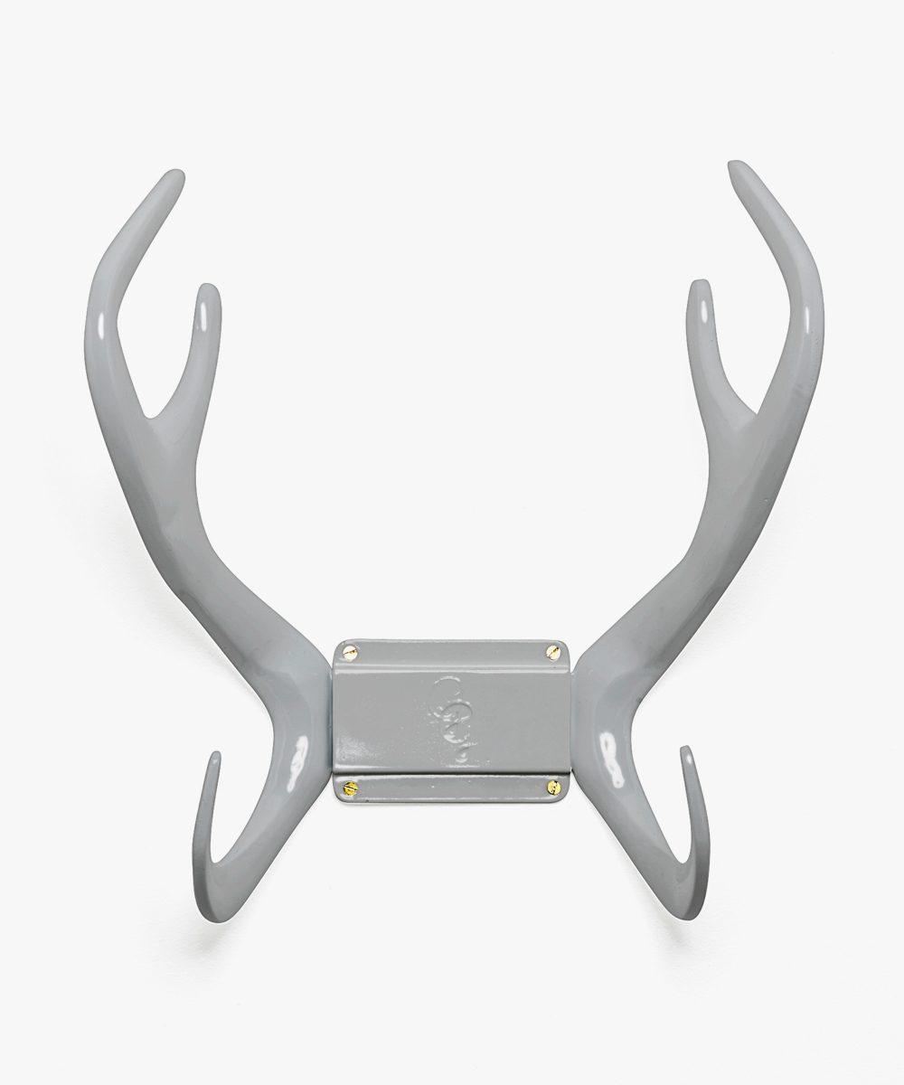Grey antler hose holder
