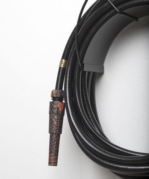 black garden hose snake