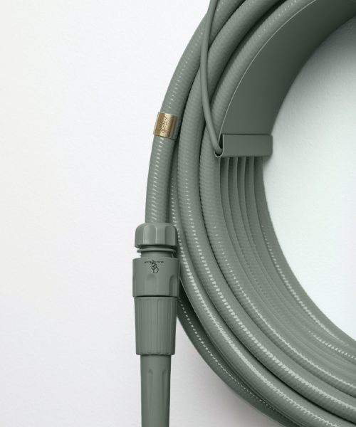 Eucalyptus colored garden hose