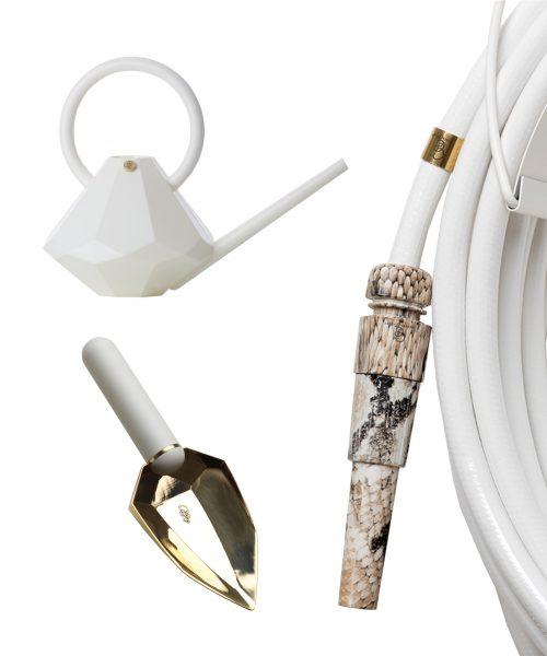 white snake hose