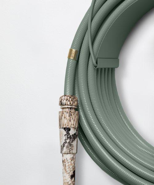 green garden hose