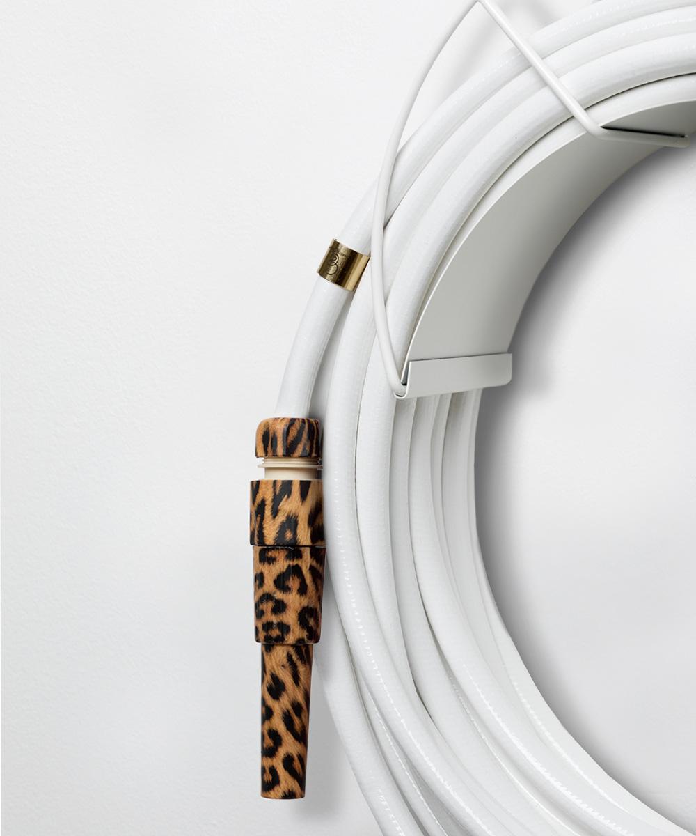 white garden hose